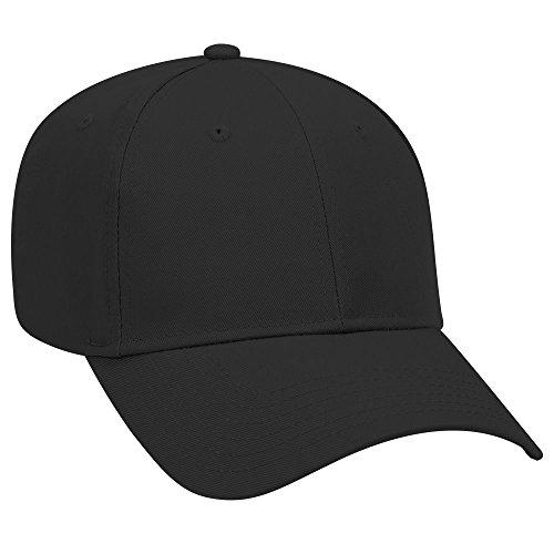OTTO Cotton Blend Twill 6 Panel Low Profile Baseball Cap - - Twill Otto Cotton Caps
