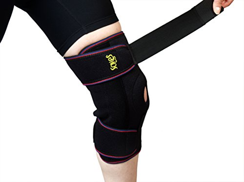 Hinged Knee Support Brace Soles