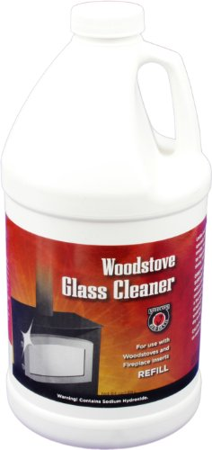 (MEECO'S RED DEVIL 702 Woodstove Glass Cleaner Refill)