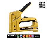 UNITACKER 6-in-1 Staple Gun Fit T50/JT21/T25/Brad Nail/Headless Pin With 2600pcs Assorted Staples