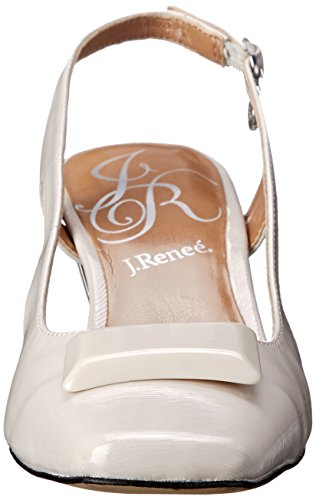 Pointed Slingback Renee J Cement Women's Toe Samina tqwnxgXH