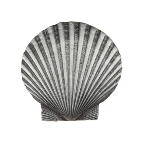 - Acorn Manufacturing DPGPP Artisan Collection Large Scallop Knob44; Antique Pewter