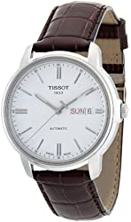 Tissot Automatic III T0654301603100 Mens Watch - Brown leather band