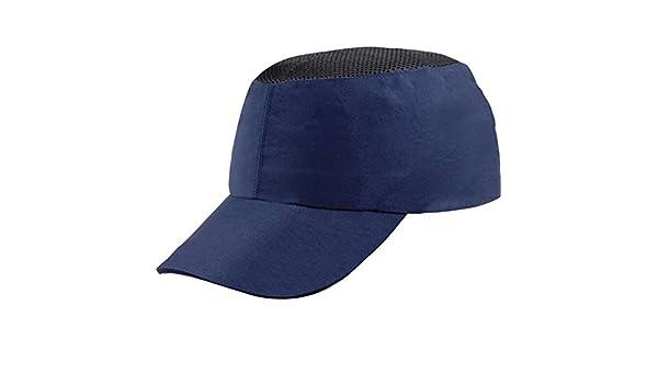 Delta plus Gorra antigolpe poliamida casco interior polietileno azul marino