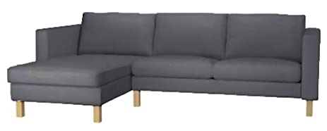 Durable Dense Cotton Karlstad Loveseat ( Two Seat ) Sofa with Chaise Lounge Sectional Cover Replacement  sc 1 st  Amazon.com : ikea karlstad chaise lounge - Sectionals, Sofas & Couches
