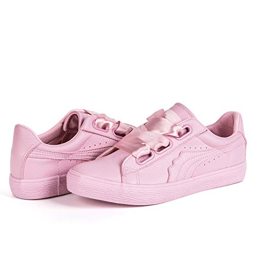 Sneakers Hotroad Unisex Pu Pelle Fashion Top Rosa Low dnn7UW
