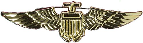 (Aviator Badge - Gold Accessory)