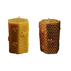 Bee and Honeycomb Candle Molds Silicone DIY Candle