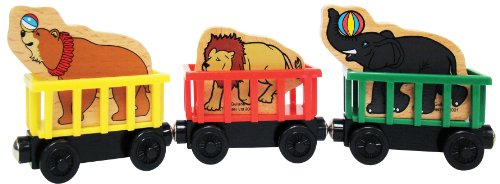 Thomas Circus Train - Thomas And Friends Wooden Railway - Circus Train Learning Curve
