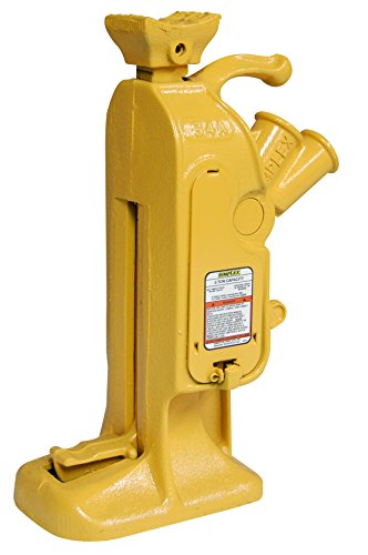 Simplex RJ84A Steel Mechanical Ratchet Jack, 5 Ton Capacity with 7'' Stroke by Simplex