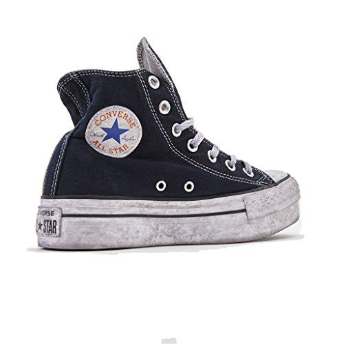 Converse Limited Sneakers All Star Platform Smoke Chuck Taylor Ltd 559072C/BLACK Smoke in, Donna, in Tela Colore Nero, Nuova Collezione Primavera Estate 2018