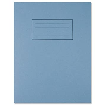 Silvine Exercise Book 7mm Squares 80 Pages 229x178mm Blue Ref EX106 ...