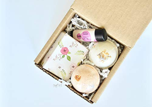 Box of Sunshine | Mini Spa Gift Set | Relaxing Spa Gift Set | Gift under 20 | Bridesmaid Gift | Bridal Shower Favors | Cheer Up Set | Gift for Student | Birthday Gift | Gift for Friend | Travel Gift - Mini Spa Kit