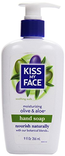 Kiss My Face, Liquid Moisture Soap, Olive & Aloe, 9 oz ()