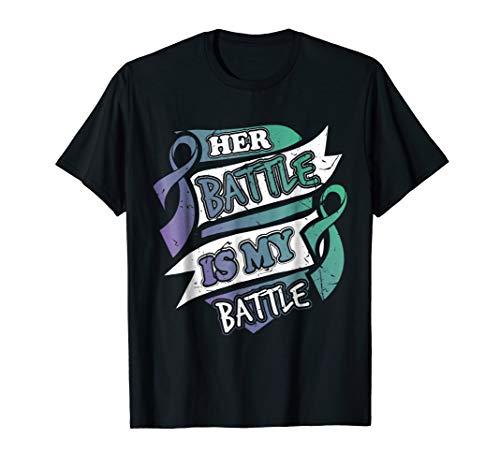 - Her Battle is my Battle Anal Cancer Awareness T-Shirt