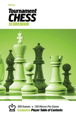 Download Tabiya Tournament Chess Scorebook: Cover Style: White with Green Graphic ebook