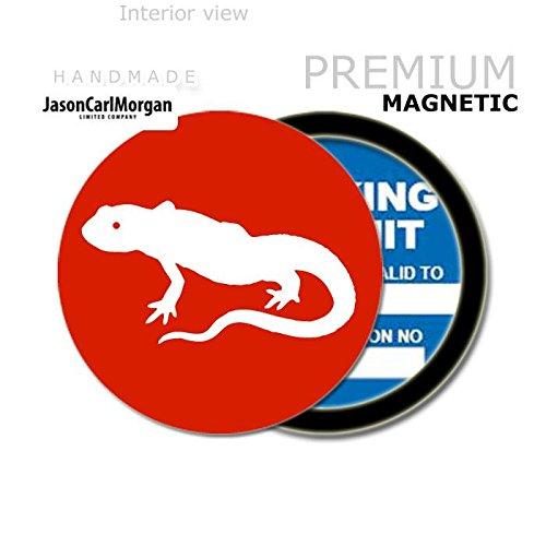 Red JCM Lizard MOT License Tax Disc Permit Holders