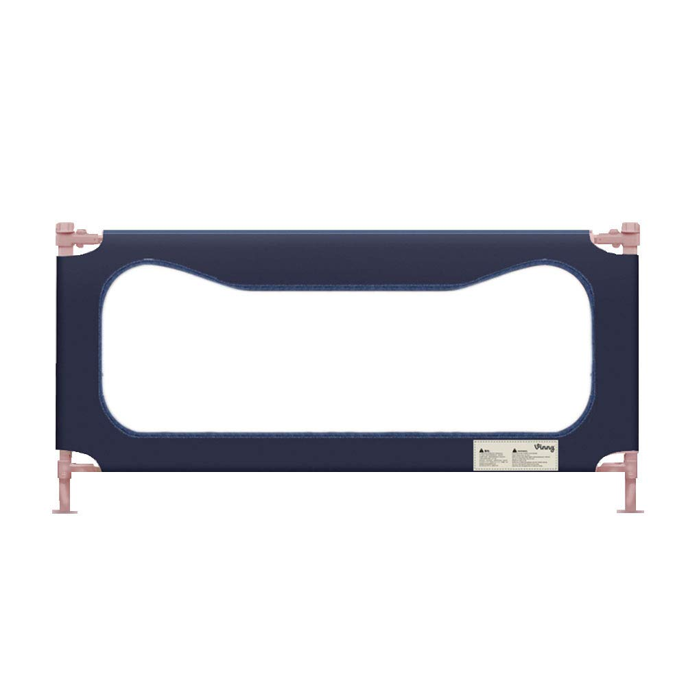 HUO ベッドフェンス子供ガードレール粉々に抵抗するベッドバッフル垂直持ち上げ-3色-1.2 / 1.5 / 1.8 / 2.0 / 2.2M (色 : A, サイズ さいず : 2M) 2M A B07L4RJJX9