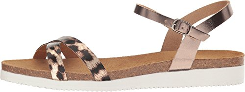 Eric Michael Womens Miley Gold Leopard