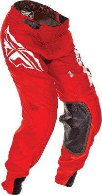 Fly Racing Unisex-Adult Lite Hydrogen Pants (Red, Size 36)