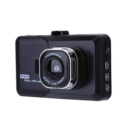 (Dash Camera Car with Full HD 1080P 170 Degree Super Wide Angle Cameras G-Sensor LCD Monitor Maoyou Black)