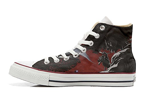 Converse All Star Hi Customized personalisierte Schuhe (Handwerk Schuhe) Demon
