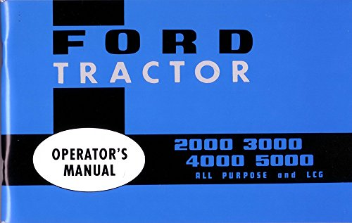 bishko automotive literature 1965 1972 1973 1974 1975 Ford Tractor Owners Manual User Guide Operator Book