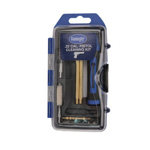 Gunmaster 22 Caliber Pistol Cleaning Kit (14-Piece)