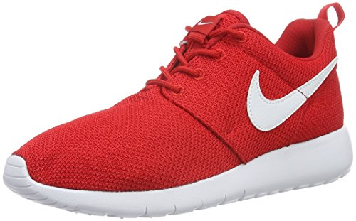 5 605 Roshe Green Red Black One White Nike Red Rot Mixte University Enfant White Running Chaussures de EU Classic 35 GS Shoe Noir Varsity FCnRqxwTd