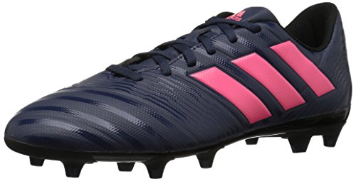 adidas Women's Nemeziz 17.4 FG W Soccer Shoe, Trace Blue/Red Zest/Core Black, 6 M US by adidas