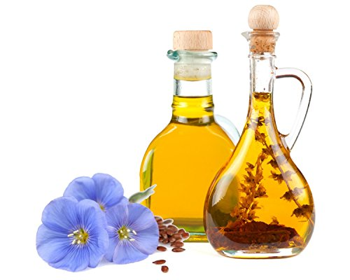 Flax Seed Organic (Linum usitatissimum) Unrefined Vegetable oil (240ml) (Linum Usitatissimum Seed)