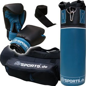 ScSPORTS DG02 Box-Set II. Wahl für Jugendliche Boxsack Boxhandschuhe...