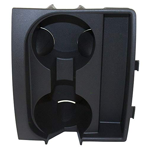 (Front Center Console Cup Holder Drink Insert Liner Replacement for Jeep Commander Grand Cherokee)