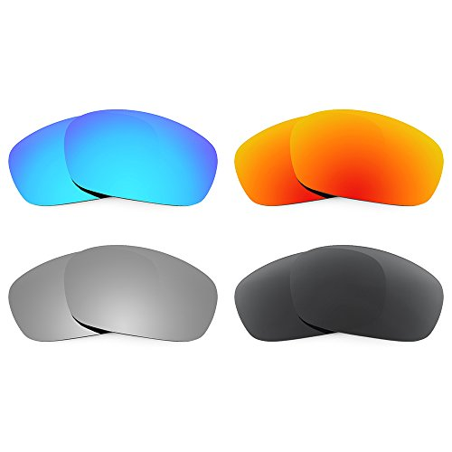 Revant Replacement Lenses for Oakley Racing Jacket Polarized 4 Pair Pack P2