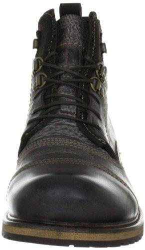 Yellow Cab SOLDIER M Y15105 - Botas de cuero para hombre Dark Brown