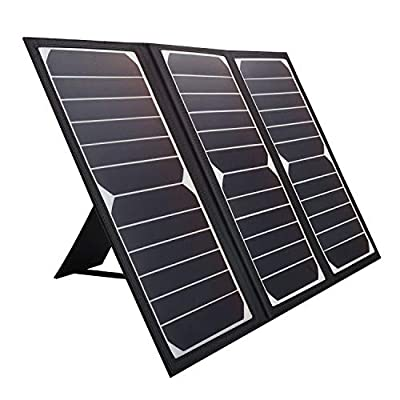 KINGSOLAR Solar Charger 21W Portable Solar Panel Charger with 2 USB Ports, Waterproof Camping Foldable Portable Solar Charger for Cell Phone Tablet GPS iPhone iPad Camera Electronic Device and More : Garden & Outdoor