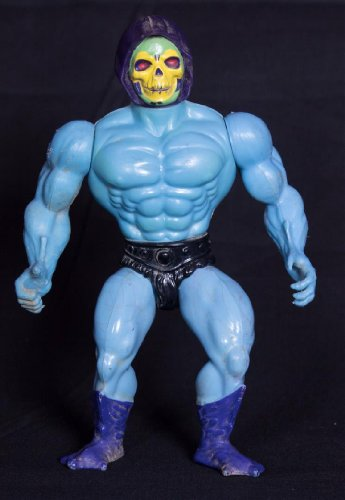 Vintage Skeletor (1981) of He-Man & the Masters of the Universe - Mattel Action Figure Doll Toy