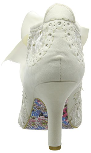 Cream Off white Third Choice Q Abigail's Irregular Boots Party Women's Ankle g0zpwq