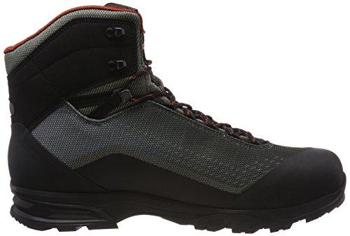 Iowa Mannen Irox Gtx Mid Trekking & Wandelschoenen Grijs (olijf / Zwart 7899)