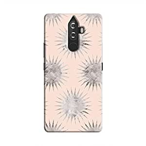 Cover It Up - Silver Pink Star K8 Note Hard Case