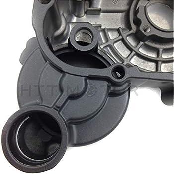 HTTMT MT313-002B+GA Compatible with Suzuki GSXR 600/750 2006-2013 Engine Stator cover Black Left w/Gasket