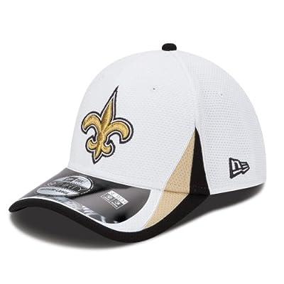 New Orleans Saints New Era 39THIRTY 2013 Official Training Flex Hat - White