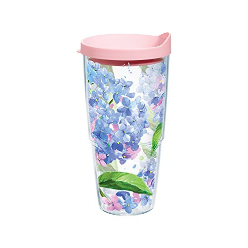Tervis 1145101 Hydrangea Tumbler Clear product image