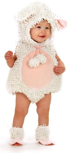 Princess Paradise Baby Girls' Premium Laura The Lamb, White/Pink, 12-18 Months (Princess Peach Costume Toddler)