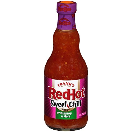 Sweet Pizza Sauce - Frank's RedHot Sweet Chili Sauce, 12 oz