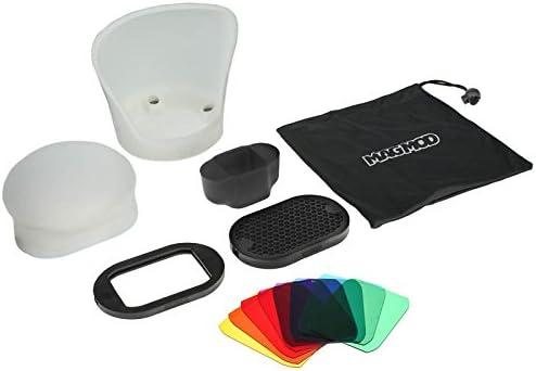 Magmod Professional Flash Kit Lichtformer Set Für Aufsteckblitze Inkl Maggrip Halterung Magsphere Diffusor Magbounce Reflektor Maggrid
