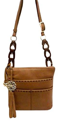 Brighton Koda Nutmeg Brown Leather Messenger (Brighton Style Handbags)