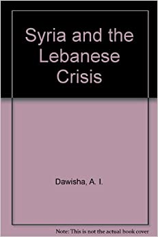 Book Syria and the Lebanese Crisis