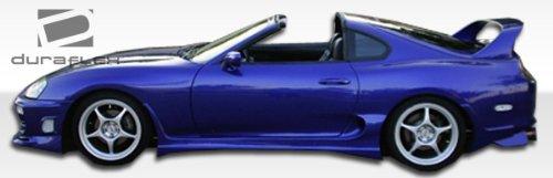 1993-1998 Toyota Supra Duraflex Bomber Side Skirts Rocker Panels - 2 - Bomber Toyota Supra