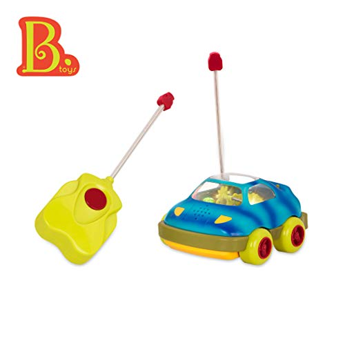 B. toys - Wheeee-Mote Control Car - One Button Remote Control Light-Up RC Toy Car for Babies and Toddlers 1 year +
